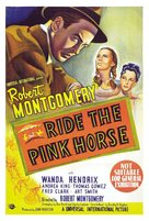 Ride the Pink Horse - Australian Movie Poster (xs thumbnail)