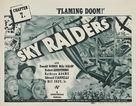 Sky Raiders - Movie Poster (xs thumbnail)