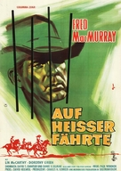 Face of a Fugitive - German Movie Poster (xs thumbnail)