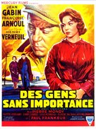 Des gens sans importance - Belgian Movie Poster (xs thumbnail)