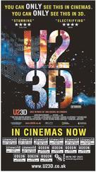 U2 3D - British Movie Poster (xs thumbnail)