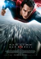 Man of Steel - Czech Movie Poster (xs thumbnail)