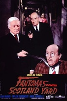 Fantômas contre Scotland Yard - Italian Theatrical poster (xs thumbnail)