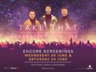 Take That - Greatest Hits Live (Concert) - British Movie Poster (xs thumbnail)