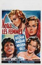 Siamo donne - Belgian Movie Poster (xs thumbnail)