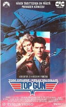 Top Gun - Finnish VHS movie cover (xs thumbnail)