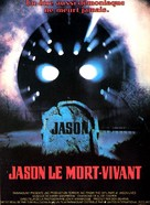 Jason Lives: Friday the 13th Part VI - French Movie Poster (xs thumbnail)