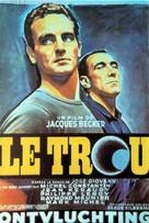 Le trou - Belgian Movie Poster (xs thumbnail)