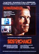 The Running Man - Danish Movie Poster (xs thumbnail)