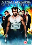 X-Men Origins: Wolverine - British DVD cover (xs thumbnail)