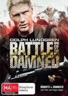 Battle of the Damned - Australian DVD movie cover (xs thumbnail)