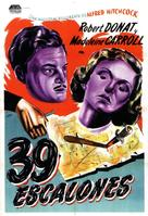 The 39 Steps - Argentinian Movie Poster (xs thumbnail)