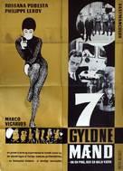 Sette uomini d'oro - Swedish Movie Poster (xs thumbnail)