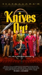 Knives Out - Danish Movie Poster (xs thumbnail)