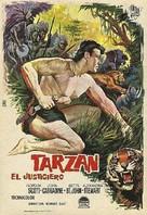 Tarzan the Magnificent - Spanish Movie Poster (xs thumbnail)