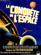 Conquest of Space - French Movie Poster (xs thumbnail)