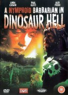 A Nymphoid Barbarian in Dinosaur Hell - British Movie Cover (xs thumbnail)