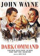 Dark Command - DVD movie cover (xs thumbnail)