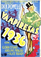Gold Diggers of 1935 - Spanish Movie Poster (xs thumbnail)