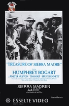 The Treasure of the Sierra Madre - Finnish VHS movie cover (xs thumbnail)