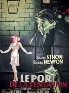 Temptation Harbour - French Movie Poster (xs thumbnail)