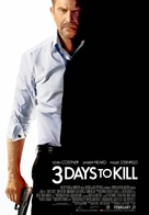Three Days to Kill - Malaysian Movie Poster (xs thumbnail)