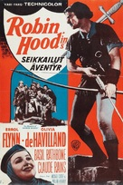 The Adventures of Robin Hood - Finnish Movie Poster (xs thumbnail)