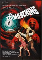 The Time Machine - German Movie Poster (xs thumbnail)