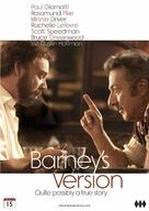 Barney's Version - Norwegian DVD movie cover (xs thumbnail)