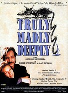 Truly Madly Deeply - French Movie Poster (xs thumbnail)