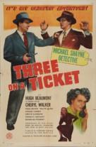 Three on a Ticket - Movie Poster (xs thumbnail)