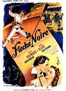 The Black Arrow - French Movie Poster (xs thumbnail)
