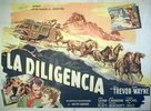 Stagecoach - Argentinian Movie Poster (xs thumbnail)