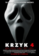 Scream 4 - Polish Movie Poster (xs thumbnail)
