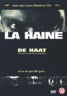 La haine - Dutch DVD movie cover (xs thumbnail)