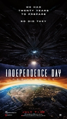 Independence Day: Resurgence - Lebanese Movie Poster (xs thumbnail)