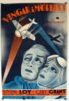 Wings in the Dark - Swedish Movie Poster (xs thumbnail)