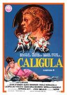 Caligola - Spanish Movie Poster (xs thumbnail)