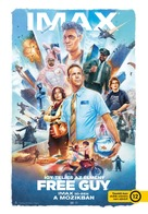Free Guy - Hungarian Movie Poster (xs thumbnail)