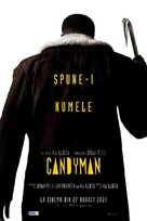 Candyman - Romanian Movie Poster (xs thumbnail)