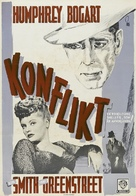 Conflict - Swedish Movie Poster (xs thumbnail)