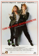 Desperately Seeking Susan - Italian Movie Poster (xs thumbnail)