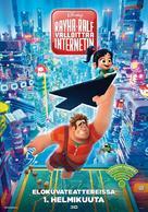 Ralph Breaks the Internet - Finnish Movie Poster (xs thumbnail)