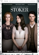Stoker - DVD movie cover (xs thumbnail)