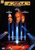The Fifth Element - Danish DVD movie cover (xs thumbnail)