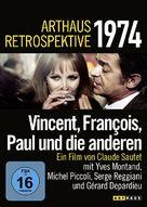 Vincent, François, Paul... et les autres - German DVD cover (xs thumbnail)
