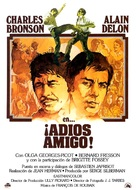 Adieu l'ami - Spanish Movie Poster (xs thumbnail)