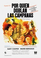 For Whom the Bell Tolls - Spanish Movie Poster (xs thumbnail)