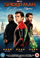 Spider-Man: Far From Home - British Movie Cover (xs thumbnail)