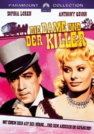 Heller in Pink Tights - German DVD cover (xs thumbnail)